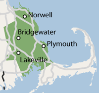 Our Massachusetts Service Area